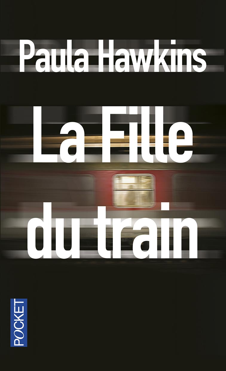 "couverture Pocket de ""La fille du train"" de Paula Hawkins"