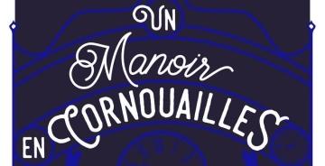 """En tête du livre Un Manoir en Cornouailles"""""""