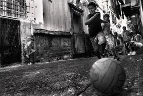 Illsutration d'une rue de Naple