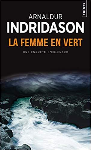 """couverture du livre """"La femme en vert"""""""